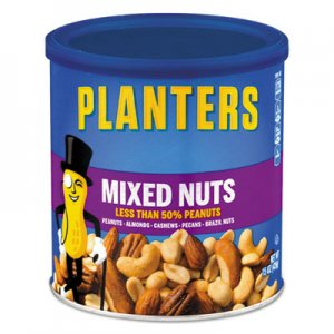 Planters Mixed Nuts, 15oz Can PTN01670 01670