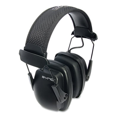 Howard Leight by Honeywell Sync Stereo Earmuff, 25 dB NRR HOW1030110 1030110