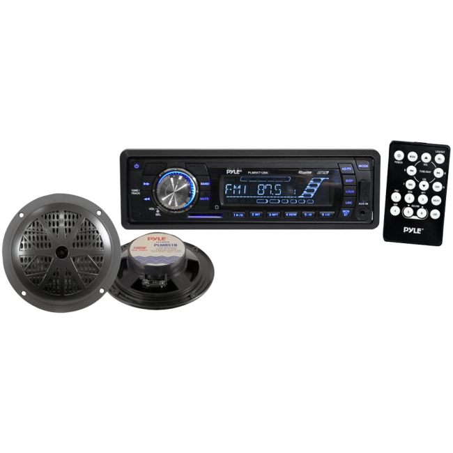 Pyle Marine Flash Audio Player PLMRKT12BK