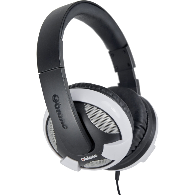 SYBA Multimedia Oblanc U.F.O. White Subwoofer Headphone W/In-line Microphone OG-AUD63052
