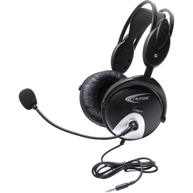 Califone 4100 Headset with To Go Plug 4100AVT