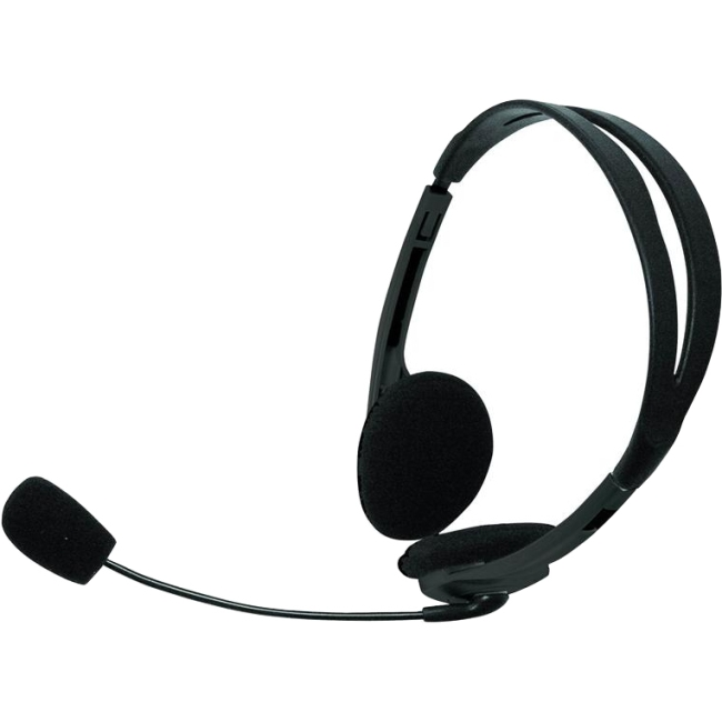 Inland Products 3.5mm Basic Headset 87070 1000
