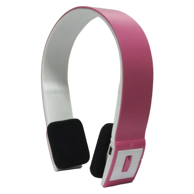 Inland Products Bluetooth Headset - Pink 87095