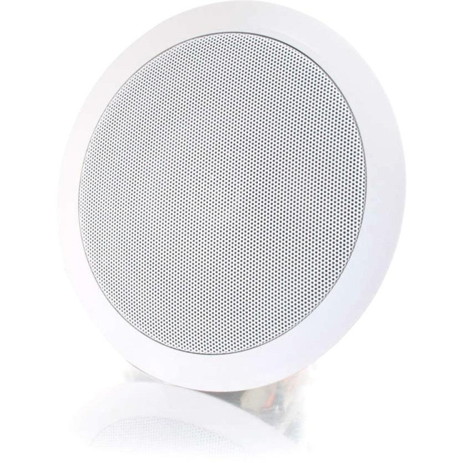 C2G 5in Ceiling Speaker - White (Each) 39903
