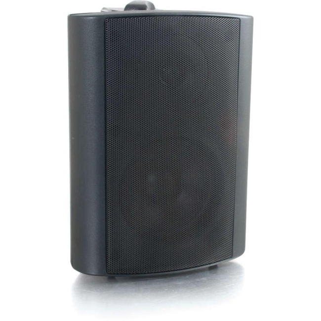 C2G 4in Wall Mount Speaker - Black (Each) 39906