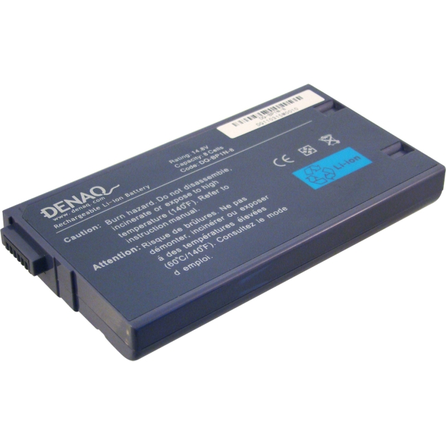 Denaq 8-Cell 4400mAh Li-Ion Laptop Battery for SONY DQ-BP1N-8