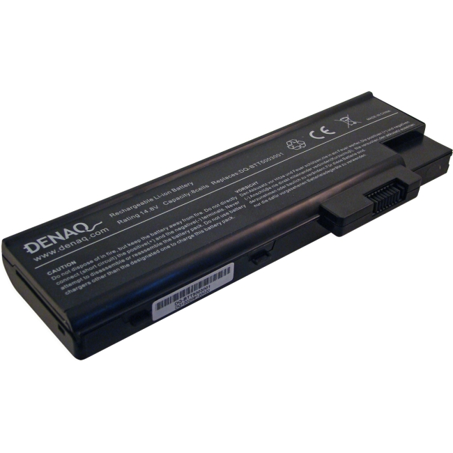 Denaq 8-Cell 4400mAh Li-Ion Laptop Battery for ACER DQ-BTT5003001