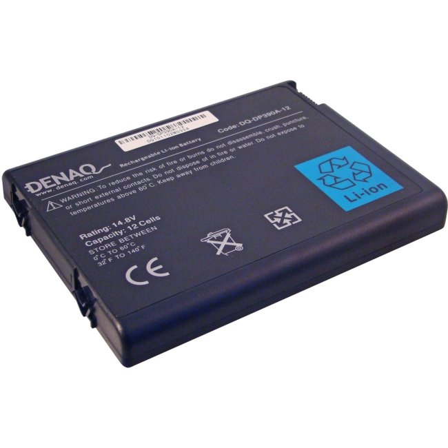 Denaq 12-Cell 6600mAh Li-Ion Laptop Battery for HP DQ-DP390A-12