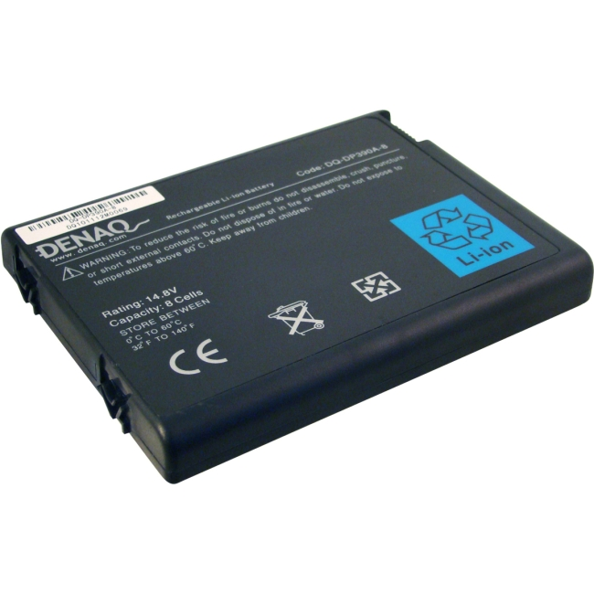 Denaq 8-Cell 4400mAh Li-Ion Laptop Battery for HP DQ-DP390A-8
