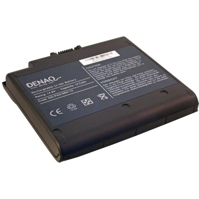 Denaq 12-Cell 7800mAh Li-Ion Laptop Battery for TOSHIBA DQ-PA3166U-12