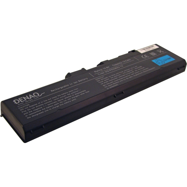 Denaq 12-Cell 7800mAh Li-Ion Laptop Battery for TOSHIBA DQ-PA3383U-12
