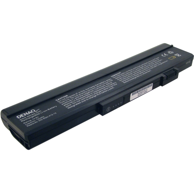 Denaq 12-Cell 6600mAh Li-Ion Laptop Battery for GATEWAY DQ-SQU-412-12