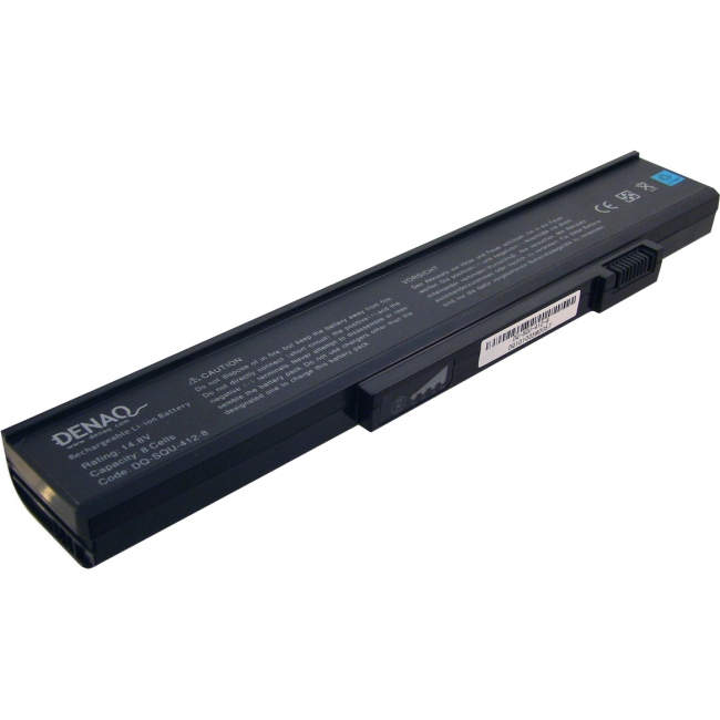 Denaq 8-Cell 4400mAh Li-Ion Laptop Battery for GATEWAY DQ-SQU-412-8