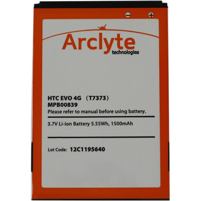 Arclyte Cell Phone Battery MPB00839