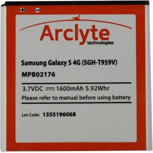 Arclyte Cell Phone Battery MPB02176