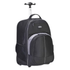 "Targus 16"" Compact Rolling Backpack (Black) TSB750US"