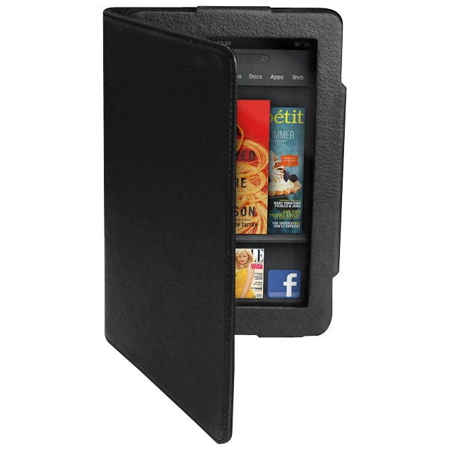 Premiertek Flip Leather Case With Stand For Amazon Kindle Fire LC-AKF