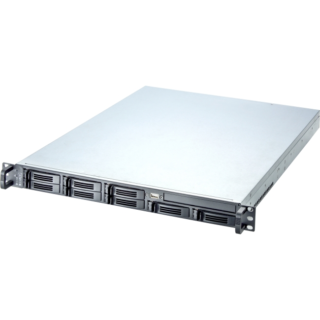 "Chenbro 1U 8-bay 2.5"" HDD Storage Server Chassis RM13108T2-BT RM13108"