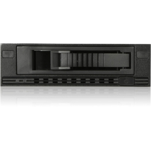 "iStarUSA 1x5.25"" Bay Audio SATA/SAS 6.0 Gb/s Mobile Rack T-7M1-SATA-BLACK T-7M1-SATA"