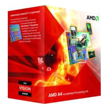 AMD A4 Series Dual-core 3.4GHz Desktop Processor AD5300OKHJBOX A4-5300