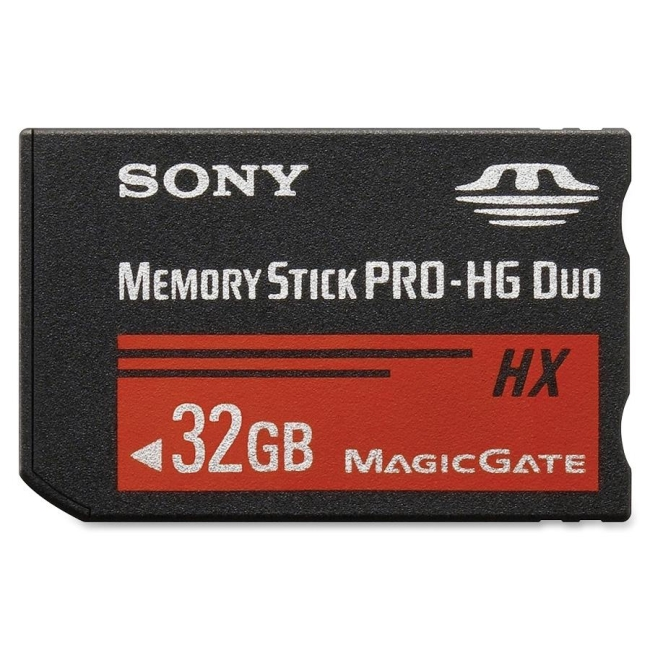 Sony Corporation 32GB Memory Stick PRO-HG Duo HX Media MSHX32B/MN