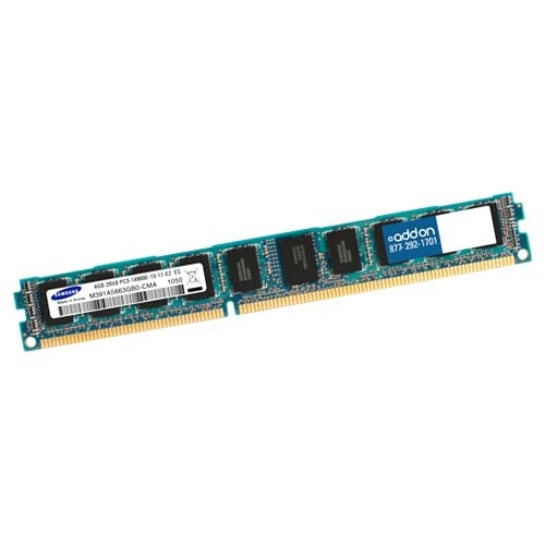 AddOn Factory Original 4GB DDR3 1066MHZ QR LP RDIMM F/Dell A3858999-AMK