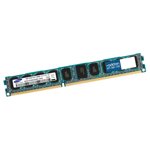 AddOn FACTORY ORIGINAL 4GB DDR3 1600MHZ DR RDIMM F/Select Servers AM160D3DR4RLPN/4G