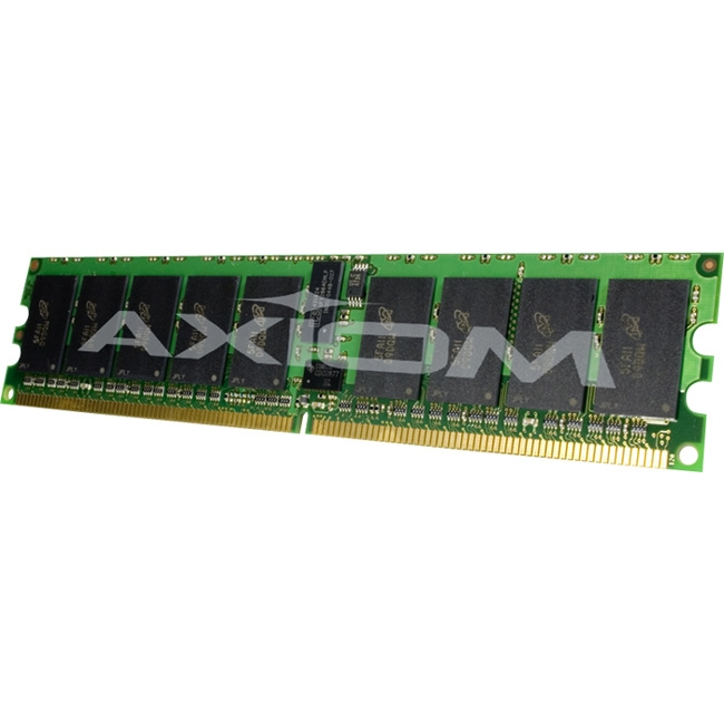 Axiom PC3L-10600 Registered ECC 1333MHz 1.35v 4GB Low Voltage Single Rank Module 0A89415-AX