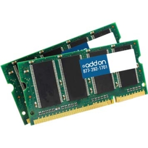 AddOn 4GB DDR2 800MHZ 204-pin SODIMM Dell Notebooks SNPTX760CK2/4G-AAK
