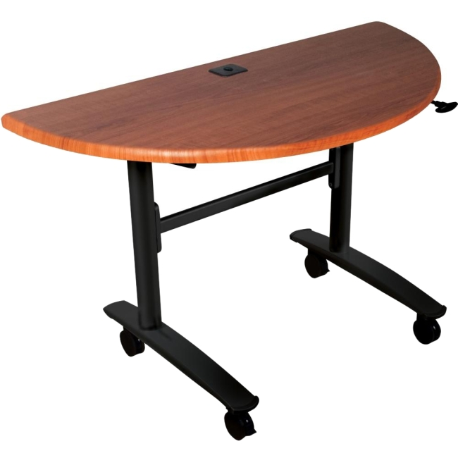 Balt Black Cherry Lumina Flipper Table - Half Round 89999