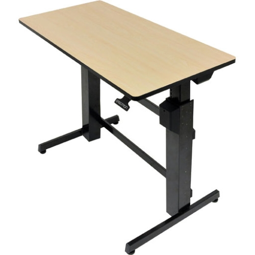 Ergotron WorkFit-D, Sit-Stand Desk (Birch Surface) 24-271-928