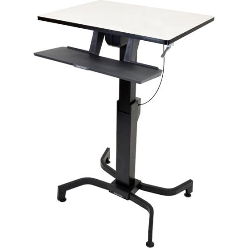 Ergotron WorkFit-PD, Sit-Stand Desk (Birch) 24-280-928