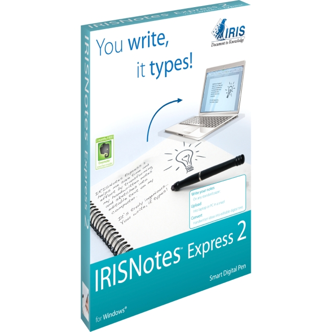 I.R.I.S. IRISnotes Digital Pen 457488 Express 2