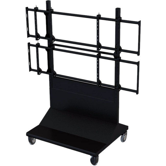 Premier Mounts 2X2 Mobile Video Wall Cart MVWC-2X2