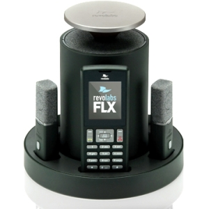 Revolabs FLX2 System w/ 1 Omni & 1 Wearable Microphone 10-FLX2-101-VOIP