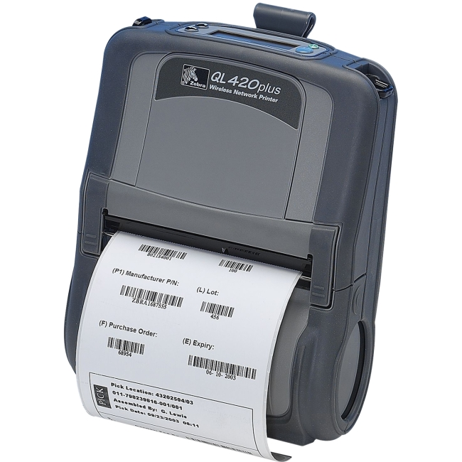 Zebra Receipt Printer Q4D-LU1D0000-00 QL 420 Plus