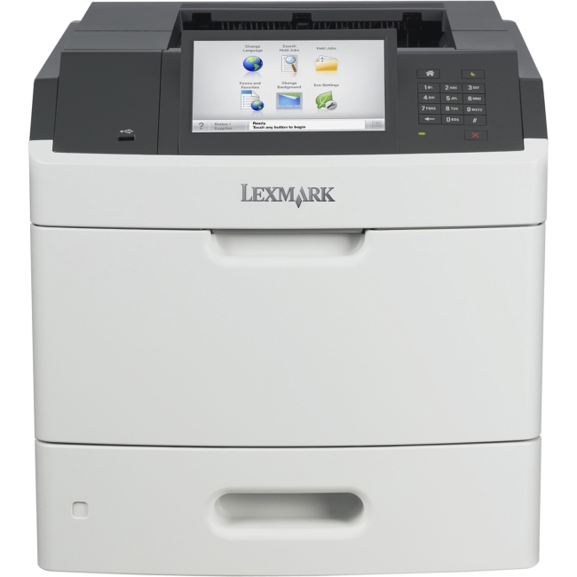 Lexmark Laser Printer Government Compliant CAC Enabled 40GT365 MS812DE