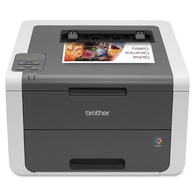 Brother Digital Color Printer with Wireless Networking HL-3140CW