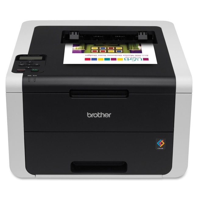 Brother Digital Color Printer with Wireless Networking and Duplex HL-3170CDW