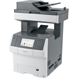 Lexmark Color Laser MFP Government Compliant CAC Enabled 34TT018 X748DE