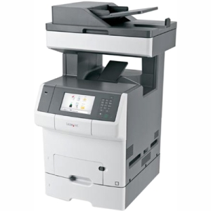 Lexmark Color Laser MFP Government Compliant CAC Enabled 34TT019 X748DTE