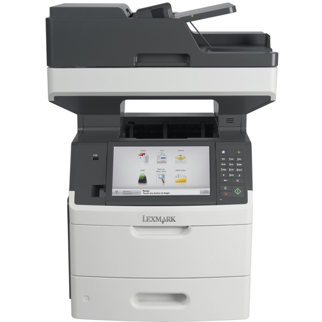 Lexmark Multifunction Laser Printer Government Compliant CAC Enabled 24TT348 MX711DHE