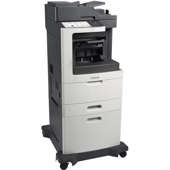 Lexmark Laser Multifunction Printer Government Compliant CAC Enabled 24TT382 MX812DXE