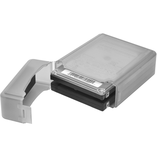 SYBA Multimedia 2.5 inch IDE/Sata HDD Storage Box (Gray Color) SY-ACC25014