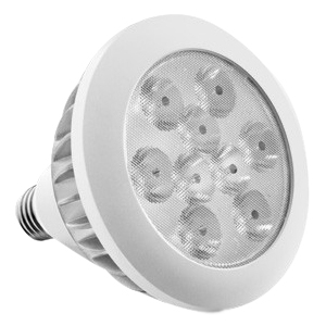 Aluratek 17W Warm White PAR38 LED Energy Saving Replacement Light Bulb ALB17P
