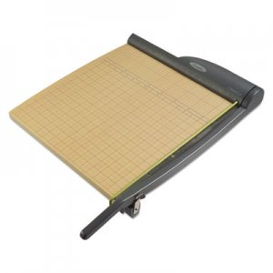Swingline ClassicCut Pro Paper Trimmer, 15 Sheets, Metal/Wood Composite Base, 18 x 18 SWI9118 91118A