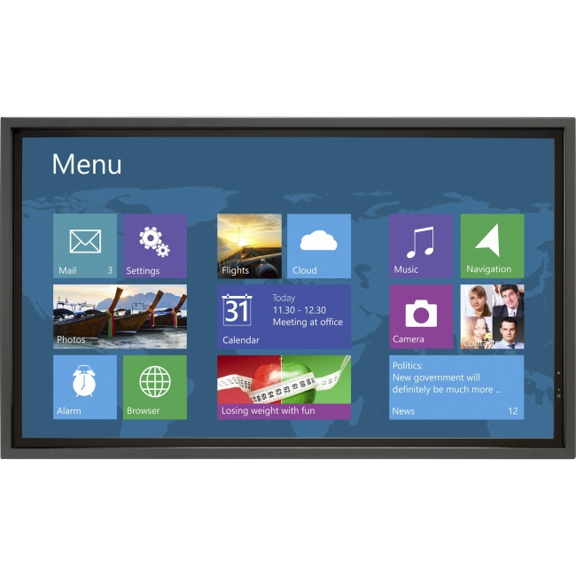 NEC Display Infrared Multi-Touch Overlay Accessory for the V652 Large-screen Display OL-V652