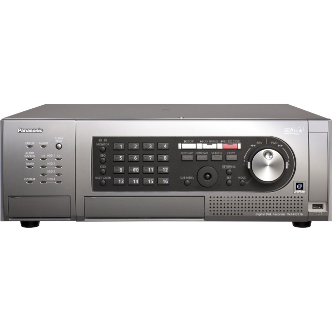 Panasonic 16-Channel H.264 Real-Time Digital Video Recorder WJHD716/12000T3