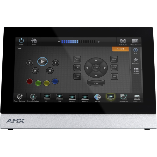 "AMX 7"" Modero X Series Tabletop Touch Panel FG5968-04 MXT-700"