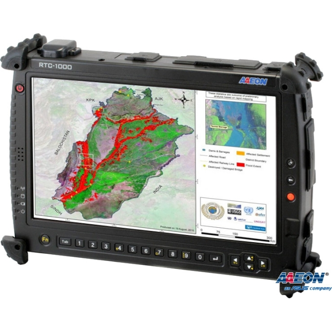 "Aaeon 10.2"" Rugged Tablet Computer TF-RTC-1000AS-TA-WB-1110 RTC-1000AS"